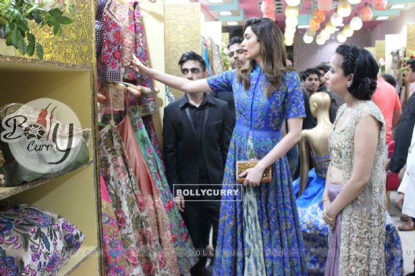 Karishma Tanna Launched 'Miraaz' Fashion Store