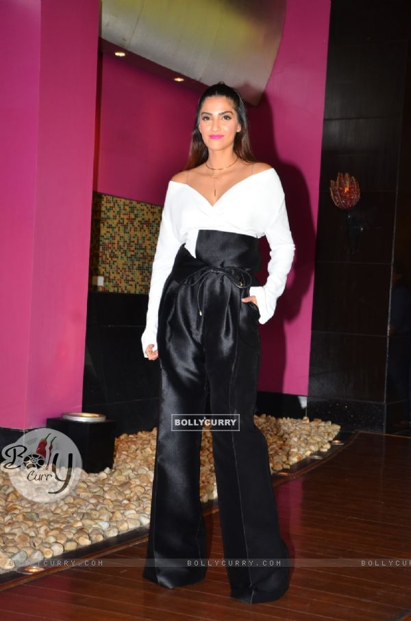 Sonam Kapoor at L'Oreal Paris Event
