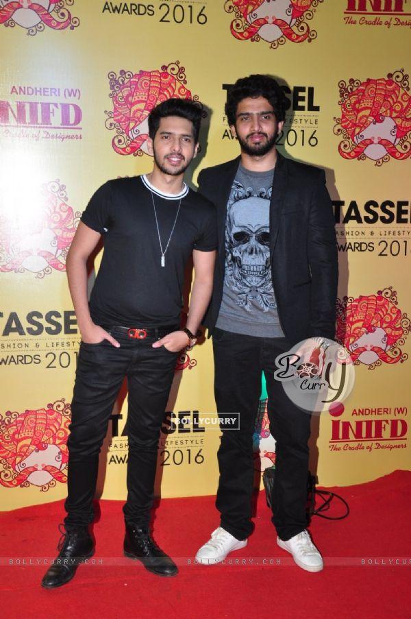 Armaan Malik and Amaal Mallik at Tassel Show
