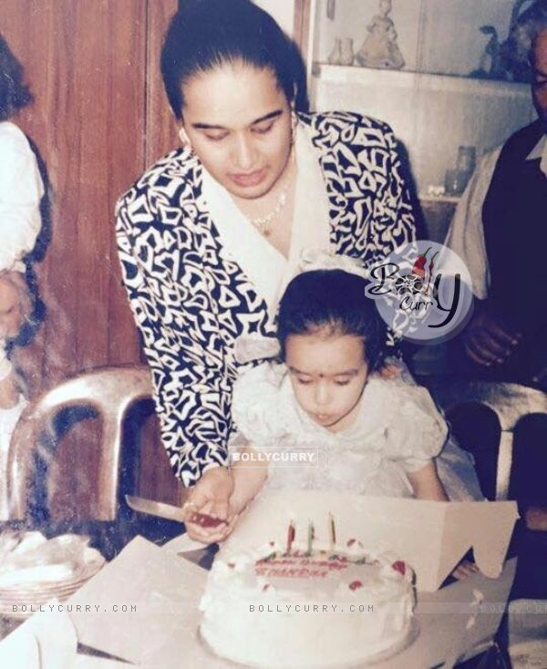 Shraddha Kapoor Childhood Photo