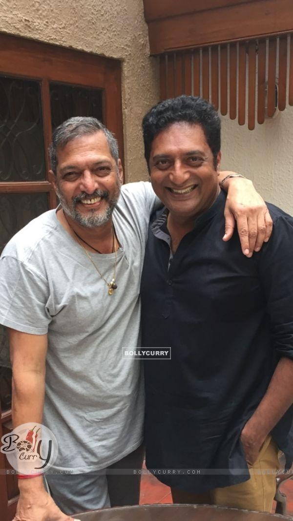 Nana Patekar with Prakash Raj