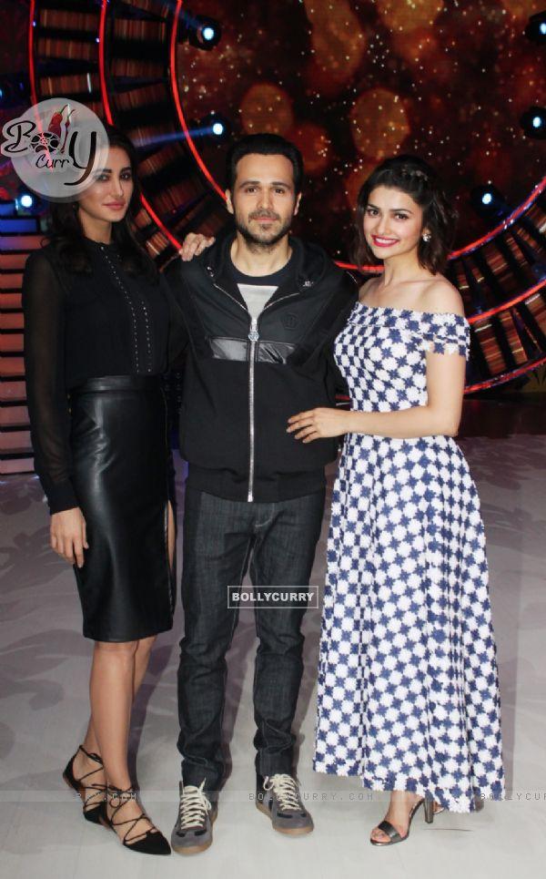 Prachi Desai and Nargis Fakhr with iEmraan Hashmi