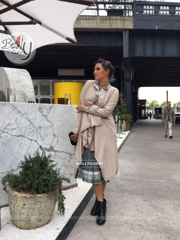 Neha Dhupia at at New York Indian film festival