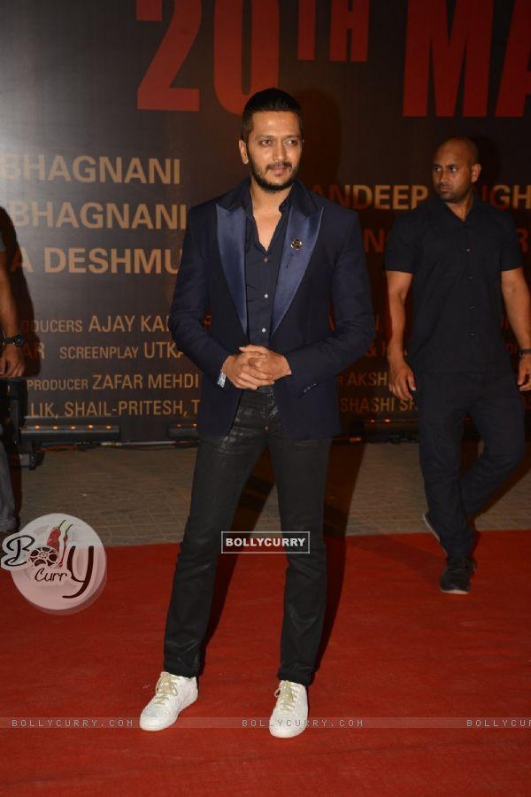 Riteish Deshmukh at Special Premiere of 'Sarabjit' (406358)