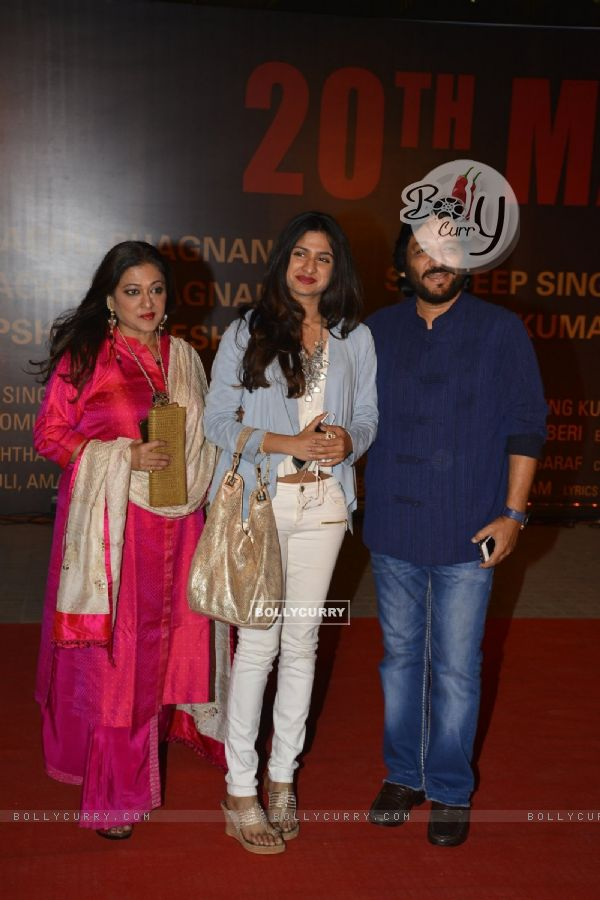 Roop Kumar Rathod with family at Special Premiere of 'Sarabjit' (406359)