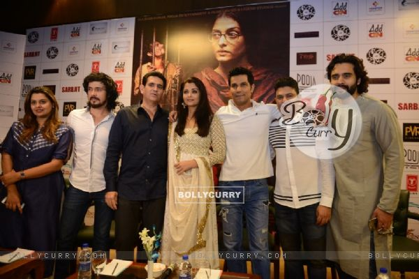 Cast of 'Sarbjit' at Press Meet