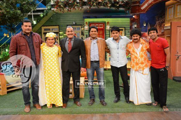 CID Serial Cast at The Kapil Sharma Show