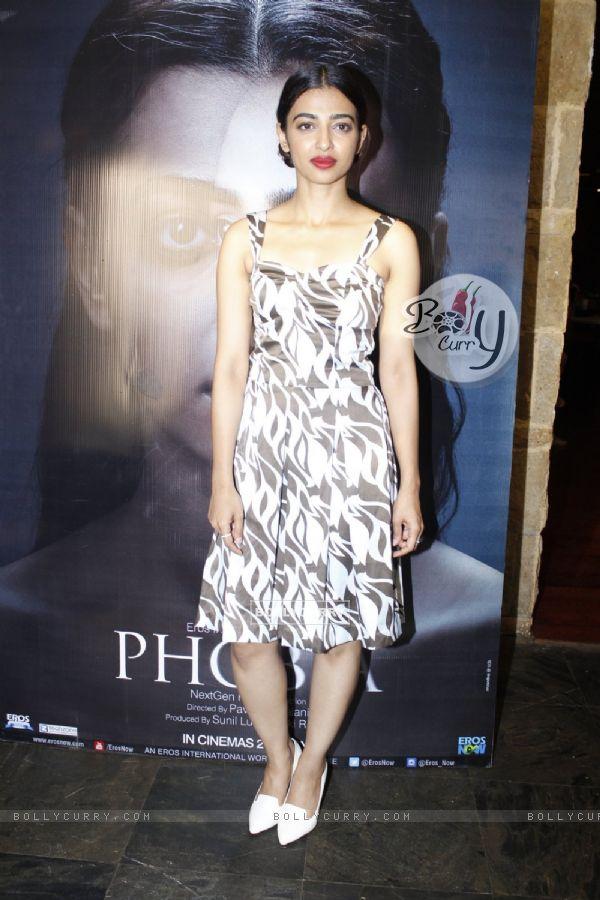 Radhika Apte Promotes 'Phobia'