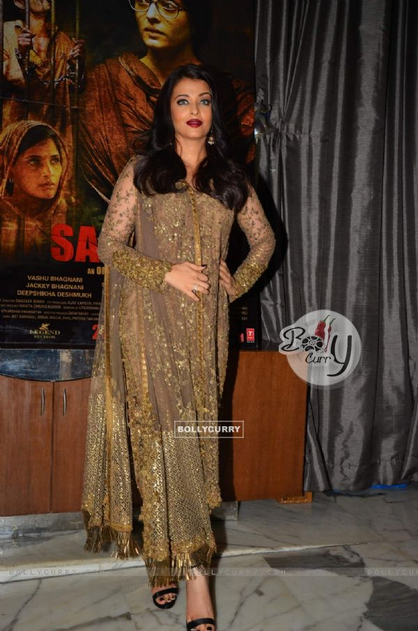 Aishwarya Rai Bachchan at Success Party of 'Sarabjit' (407064)