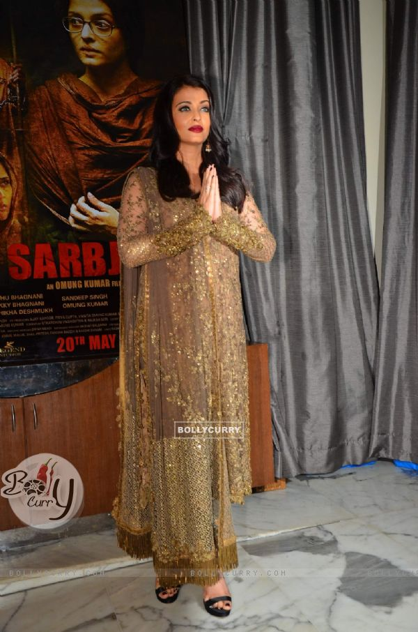 Aishwarya Rai Bachchan at Success Party of 'Sarabjit' (407065)
