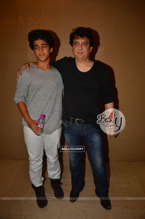 Sajid Nadiadwala at Trailer Launch of 'DISHOOM'