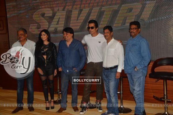 Launch of film 'Waarrior Savitri'!