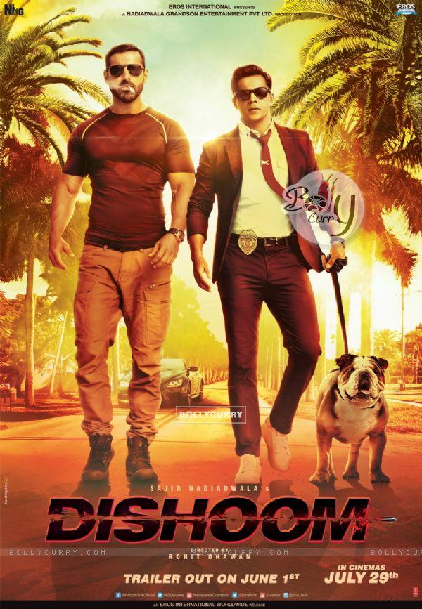 Firt poster Dishoom starring John Abrham and Varun Dhawan (407556)