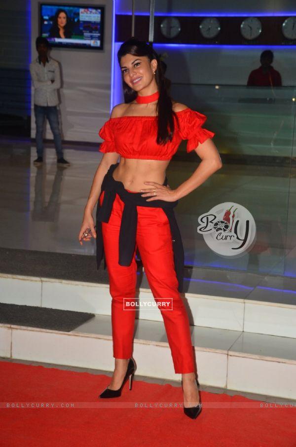 Jacqueline Fernandes at Sajid Nadiadwala's Bash for 'Housefull 3'