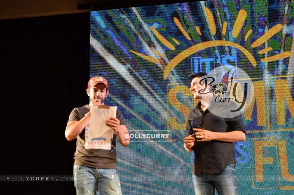 Jay Bhanushali with Shiamak Davar!