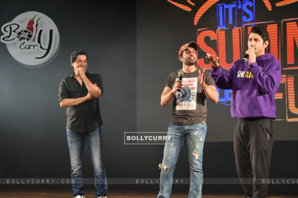 Jay Bhanushali hosts the Shiamak Davar's Event