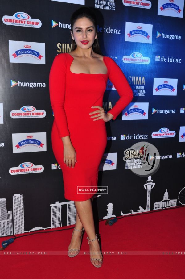 Huma Qureshi at Press Meet of SIIMA