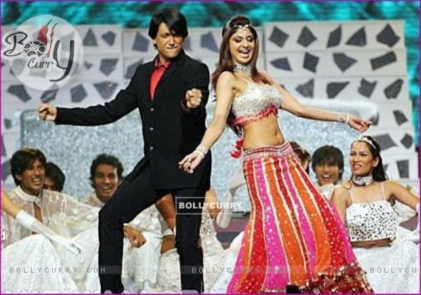 Shiamak Davar and Shilpa Shetty