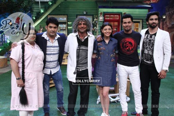 Randeep Hooda and Kajal Aggarwal promotes 'Do Lafzo Ki Kahani' on The Kapil Sharma Show!