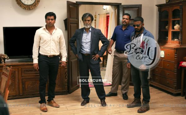 A Still of Rajinikanth from Kabali (408330)