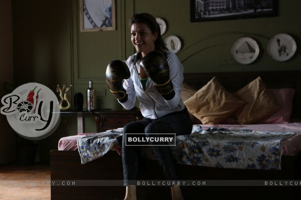 Kajal Aggarwal learns boxing for 'Do Lafzon Ki Kahani'