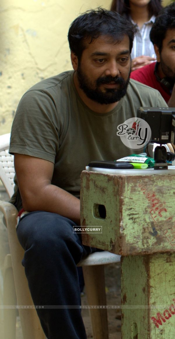 Anurag Kashyap shoots for Raman Raghav 2.0