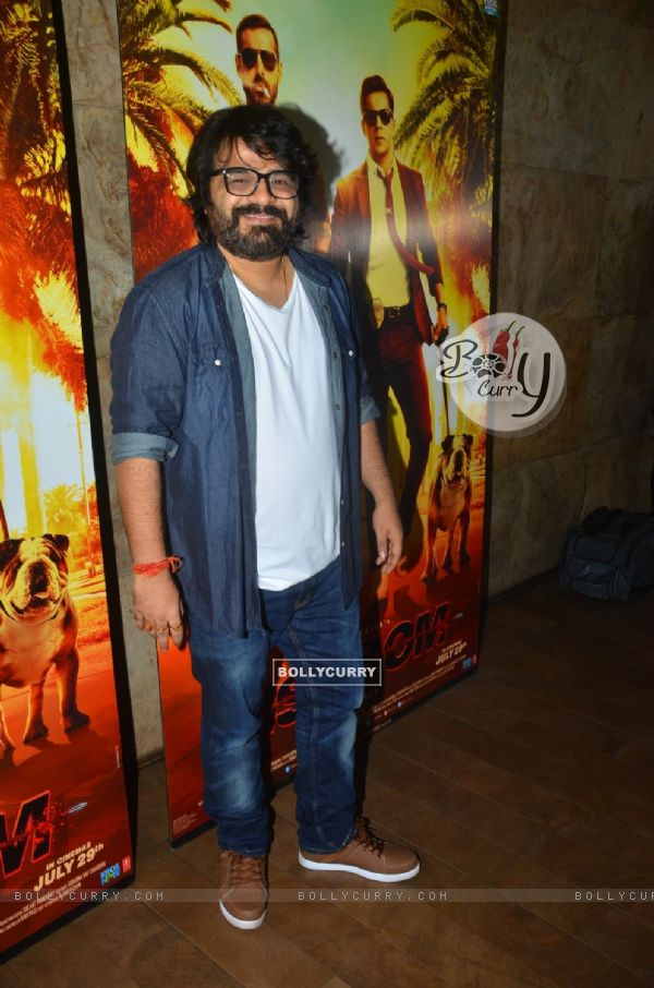 Pritam Chakraborty at Song Launch of movie 'Dishoom'