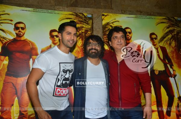 Pritam Chakraborty at Song Launch of movie 'Dishoom'Song Launch of movie 'Dishoom'