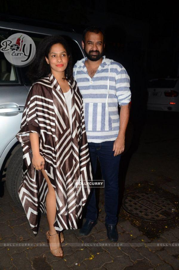 Madhu Mantena & Masaba Gupta at Success Bash of 'UDTA PUNJAB' (409643)