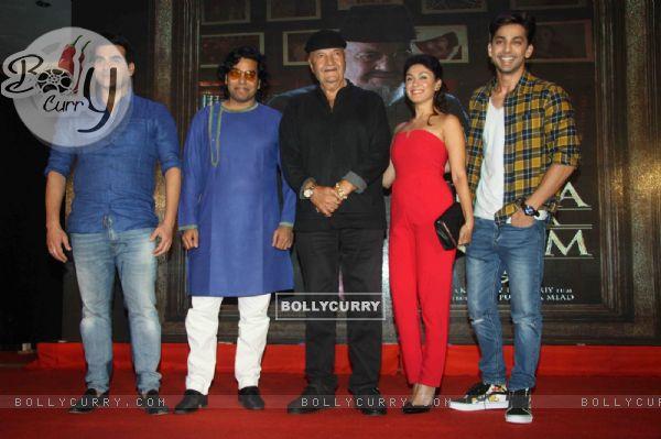 Arbaaz Khan, Ashutosh Rana, Prem Chopra, Manjari Fadnis at Launch of film 'Jeena Isi Ka Naam Hai'
