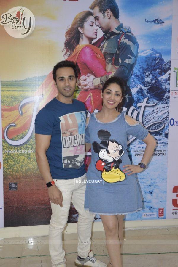 Pulkit Samrat and Yami Gautam at Press Meet of film 'Junooniyat'