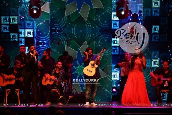 Pritam Chakraborty at Star Studded 'IIFA AWARDS 2016'