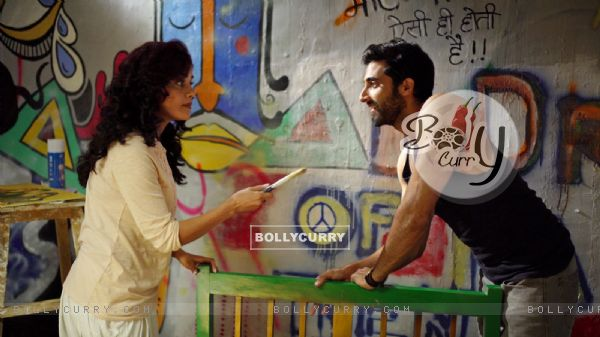 Akshay Oberoi showcases his painting skills in 'The Virgins'