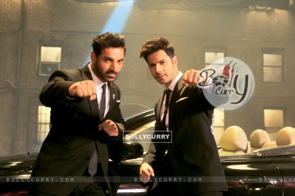 John Abraham & Varun Dhawan in Dishoom (410556)