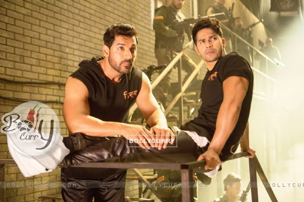 John Abraham & Varun Dhawan in Dishoom (410558)