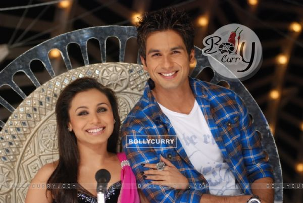 Rani Mukherjee with Shahid Kapoor