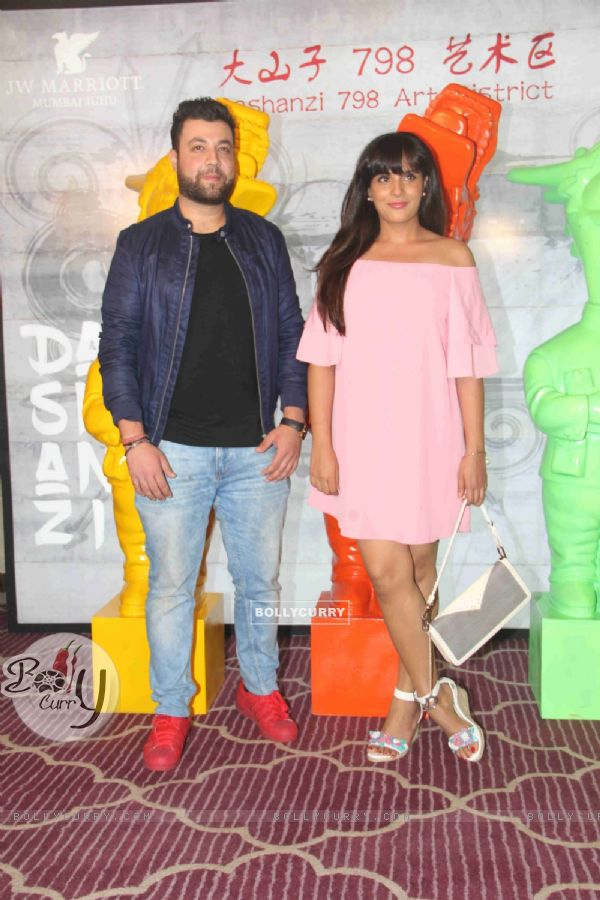 Varun Sharma and Richa Chadda at Krishika Lulla's Party for The New Asian Restaurant DASHANZI