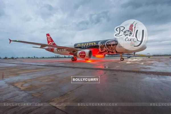 Kabali's unique style of promotion- Air Aisa promotes 'Kabali' (410993)