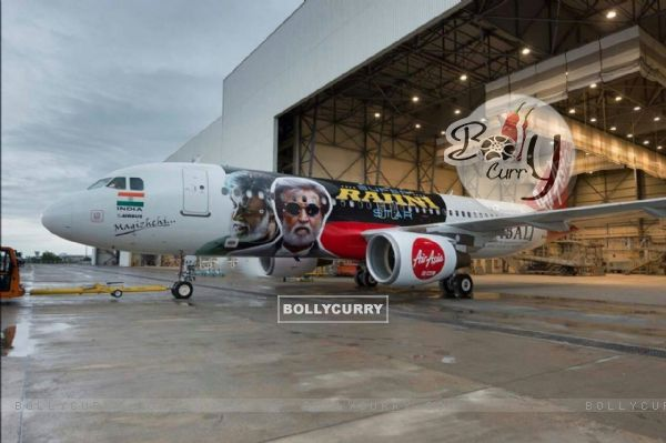 Kabali's unique style of promotion- Air Aisa promotes 'Kabali' (410994)