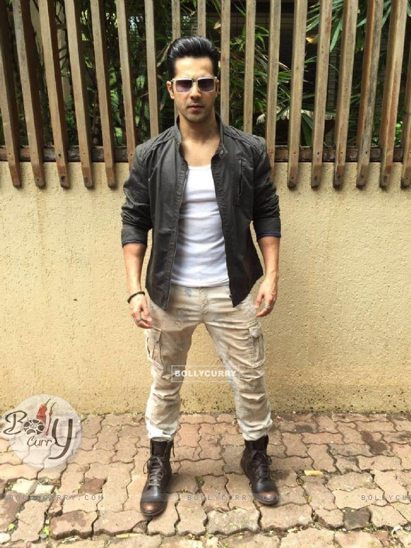 Varun Dhawan promotes 'Dishoom'