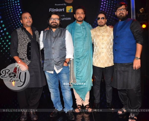 Actors and singers at Promotions of 'Madaari' on ZEE TV - Sa Re Ga Ma Pa 2016