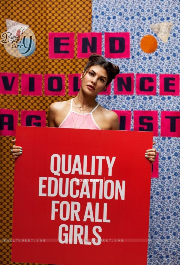 Jacqueline Fernandez Becomes Spice Girl In #WhatIReallyReallyWant Film