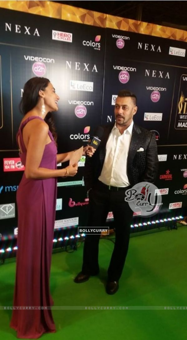 Salman Khan at IIFA 2016