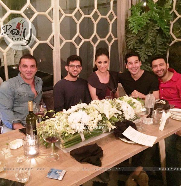 Sohail Khan, Aditya Thackeray, Rouble Nagi and Dino Morea!