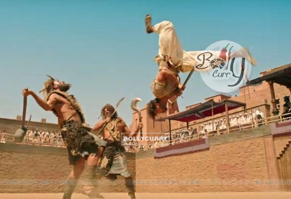 Hrithik Roshan's Raw Action in Mohenjo Daro