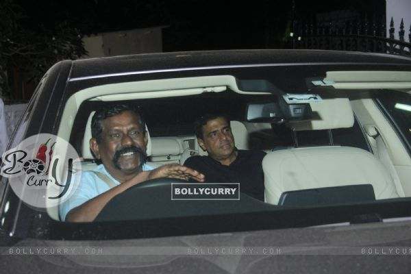 Ronnie Screwvala at Katrina Kaif's Birthday Bash