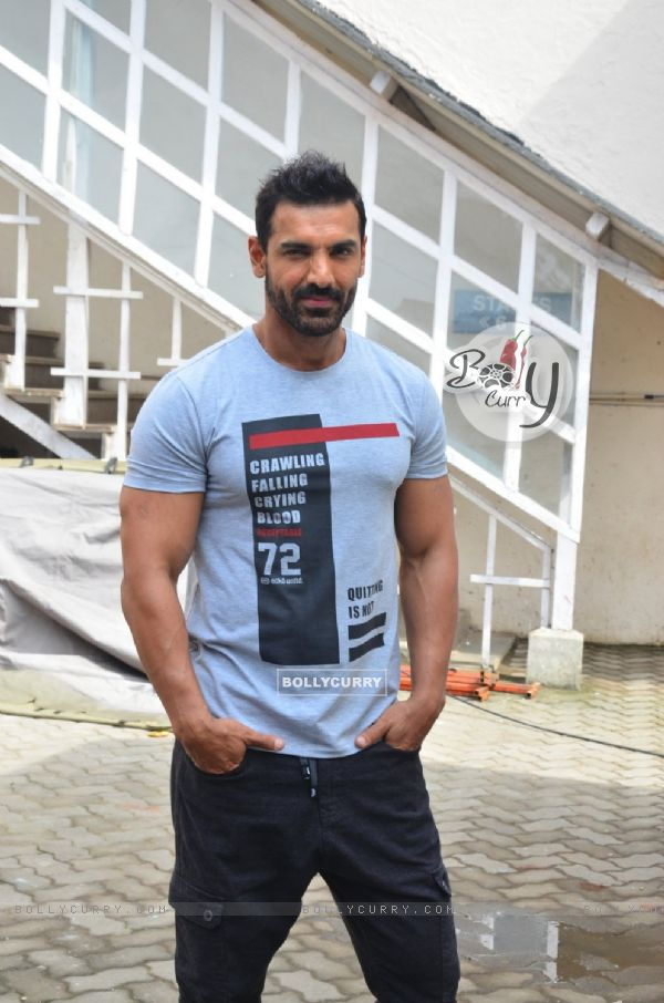 John Abraham Snapped at 'Mehboob Studio' (412313)