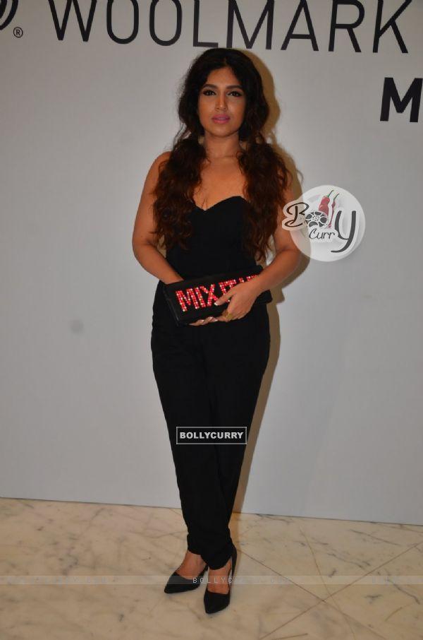 Stunning Beauty - Bhumi Pednekar at The International Woolmark Prize, Mumbai event