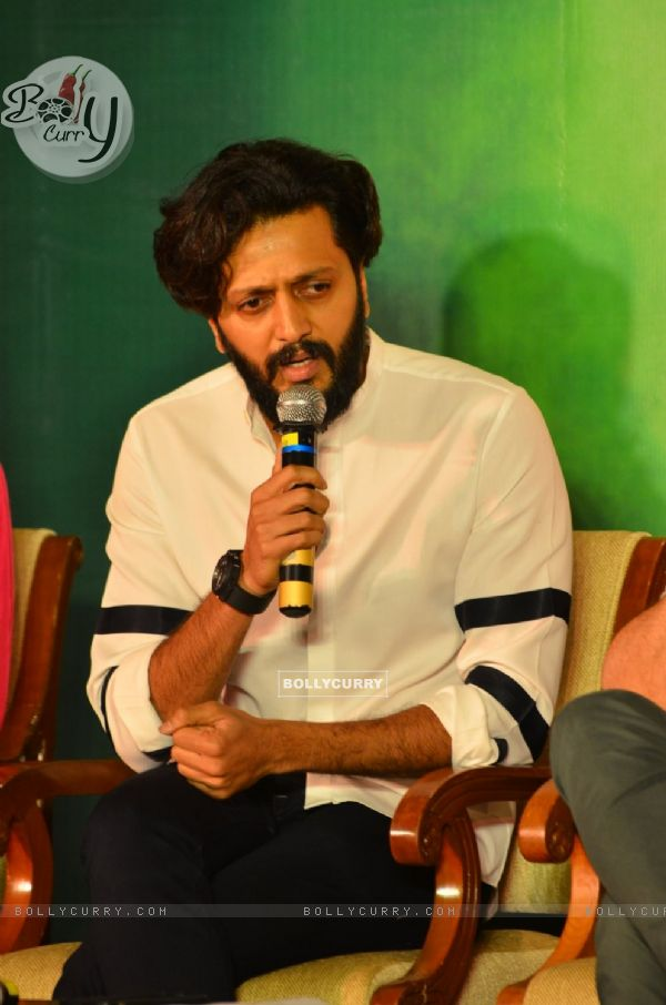 Riteish Deshmukh at Press meet of 'Grand Masti' on Piracy Issue (412472)