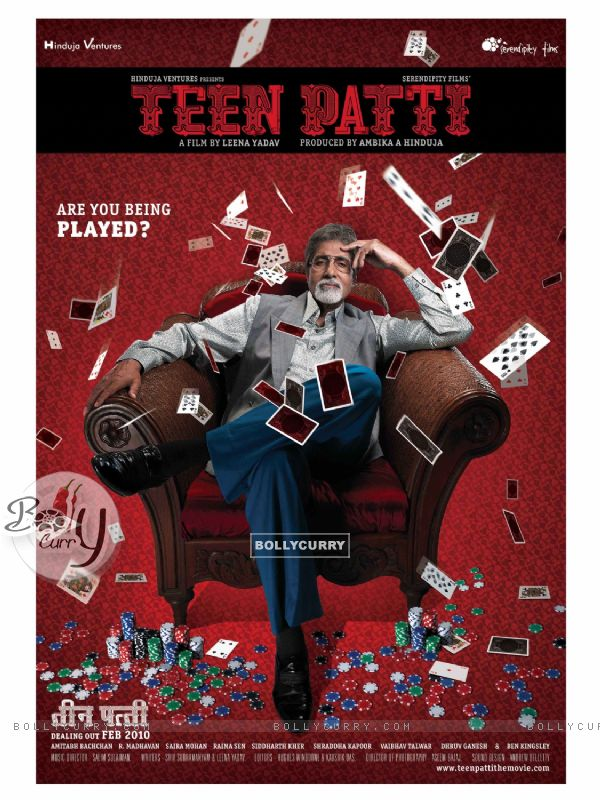 Poster of Teen Patti movie with Amitabh Bachchan (41259)